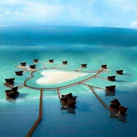 Pulo Cinta (Love Island) Boalemo Gorontalo, South Sulawesi