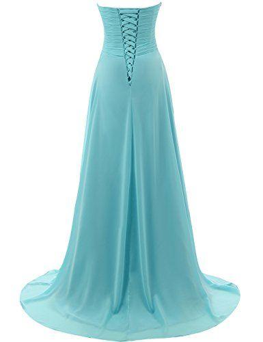 da55cdab430 JAEDEN Prom Dress Bridesmaid Dresses Long Chiffon Formal Evening Gown A  line