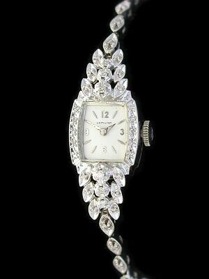 Vintage 1940's hamilton watch