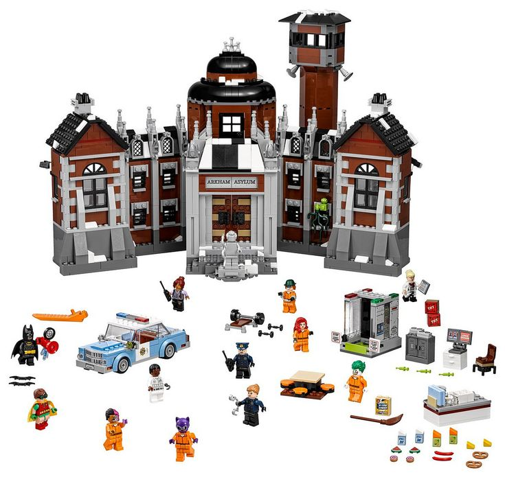 https://flic.kr/p/MKJ24n | Batman LEGO Movie: Arkham Asylum | Read more on The Brothers Brick!