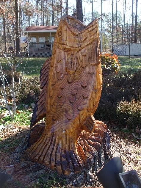 Unique tree carvings | Tree Stump Carving Patterns - InfoBarrel