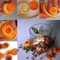orange peel rose potpourri