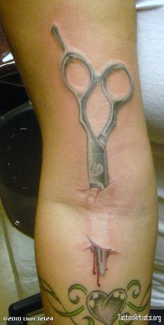 Scissor Tattoo