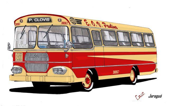 Will.Bus: Caio Jaraguá / Mercedes-Benz LPO 344 - (SP) Empresa de Ônibus Vila Paulina (Década de 60)