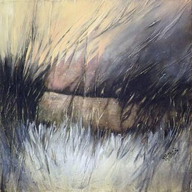 """Saatchi Art Artist Marjan Fahimi; Painting, """"Abstract -  III"""" #art"""
