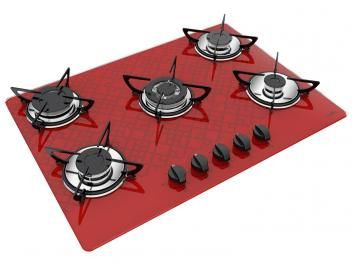 Cooktop 5 Bocas Casavitra Excellence Tetris - a Gás Tripla-Chama Acendimento Superautomático
