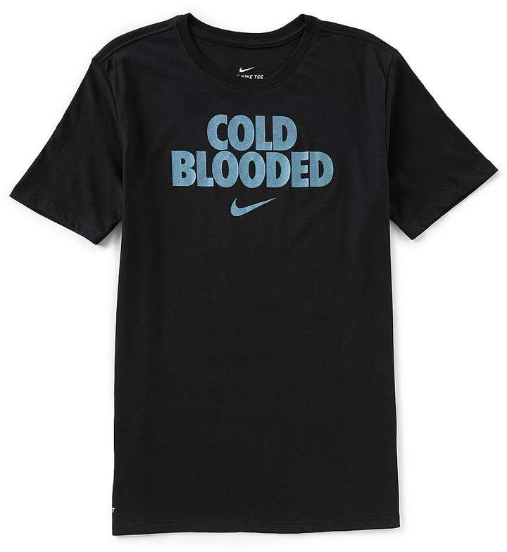 Nike Dry Short Sleeve Cold Blooded T Shirt