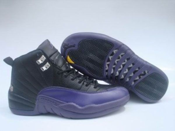 Buy Big Discount Jordan Pas Cher - Air Jordan 12 Retro Noir/Violet GdwXT  from Reliable Big Discount Jordan Pas Cher - Air Jordan 12 Retro  Noir/Violet GdwXT ...