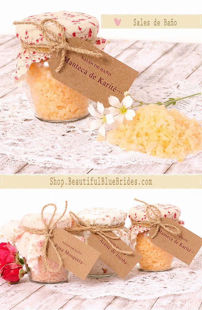 Detalles para invitados boda: sales aromáticas