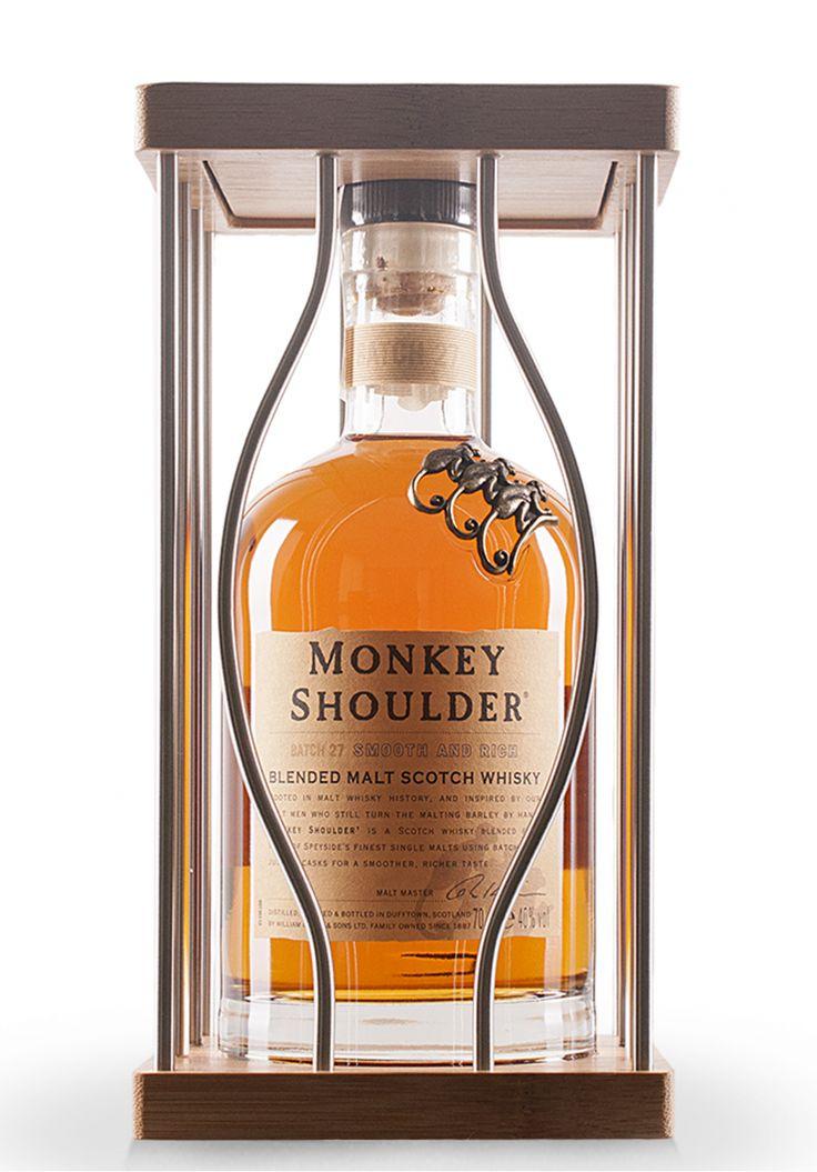 Whisky Monkey Shoulder The Cage, Blended Malt Scotch (0.7L) - SmartDrinks.ro