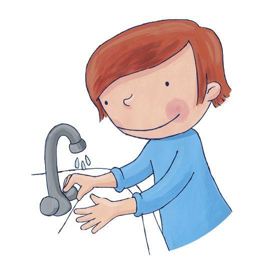 HANDENWASKAARTEN: Kinderen die hun handen vaak en goed wassen, worden minder snel verkouden en krijgen minder snel griep. Met de handige handenwaskaarten leren jonge kinderen hun handen goed te wassen.