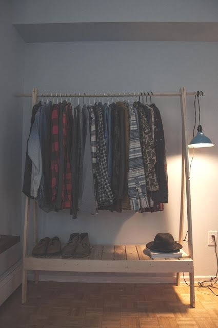 20 Diy Clothes Racks That Are Pretty And Are Easy To Make