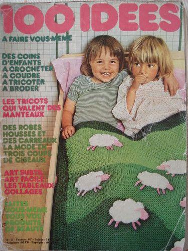 La couverture berceuse aux moutons du n° 11