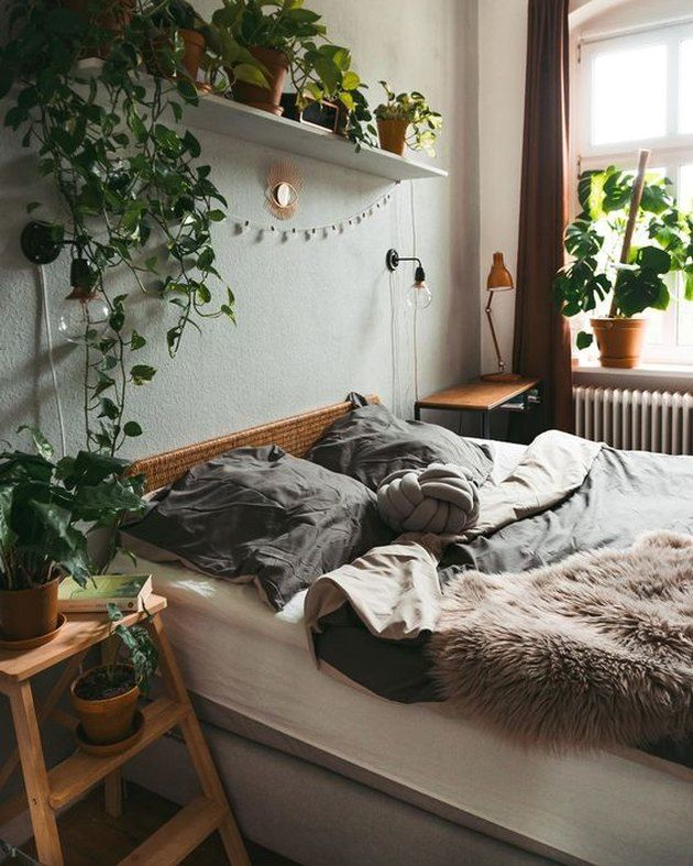 9 Plant Themed Bedroom Ideas That Ll Take Your Love Of Greenery To The Next Level Hunker In 2020 Bedroom Interior Bedroom Themes Room Ideas Bedroom