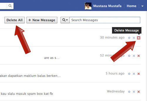 How to Delete All Facebook Messages In One Click [Quicktip]
