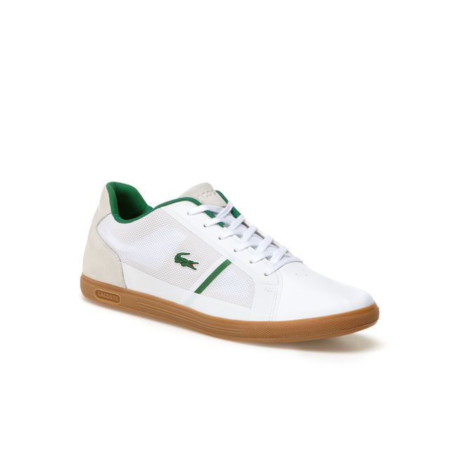 Strideur low-rise sneakers with contrast band