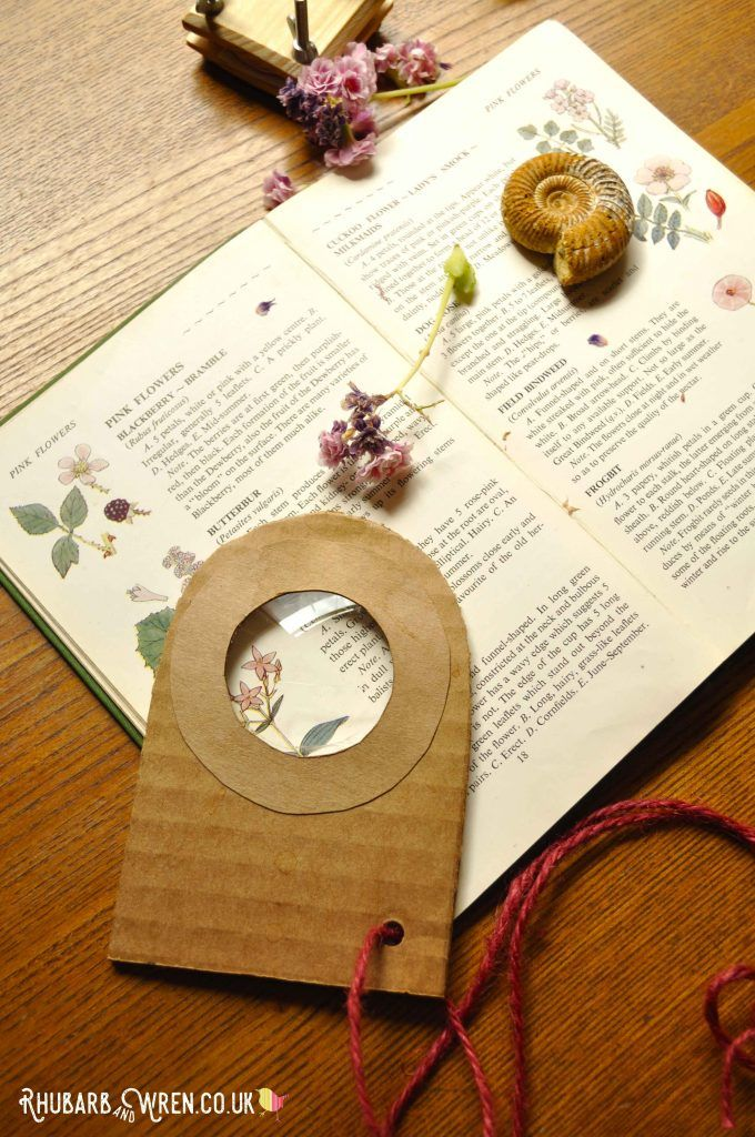How To Make A Cardboard Real Magnifying Glass Magnifying Glass