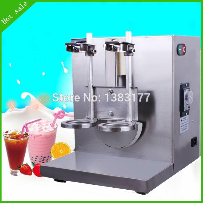 Bubble Boba Milk Tea Shaker Shaking Machine Mixer Automatic Production Stainless