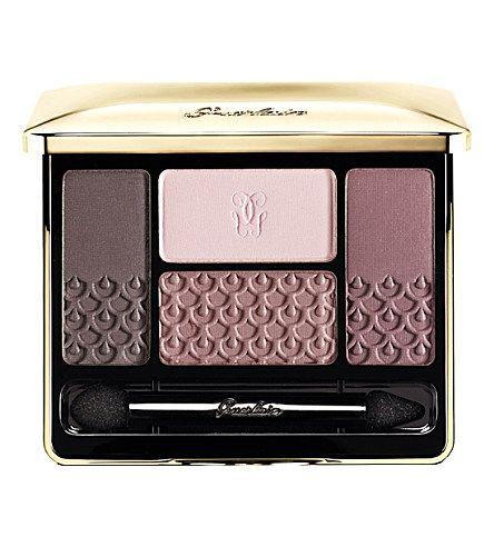 GUERLAIN Écrin 4 couleurs long-lasting eyeshadow - LES VIOLINES