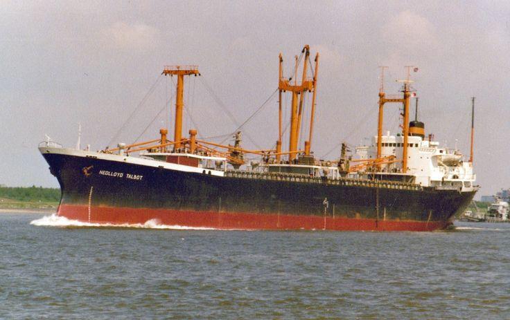NEDLLOYD TALBOT  Eigenaar   Nedlloyd Lijnen B.V., Amsterdam - Rotterdam  Bouwwerf   Mitsubishi Heavy Industries Ltd., Shimonoseki / 639  Bou...