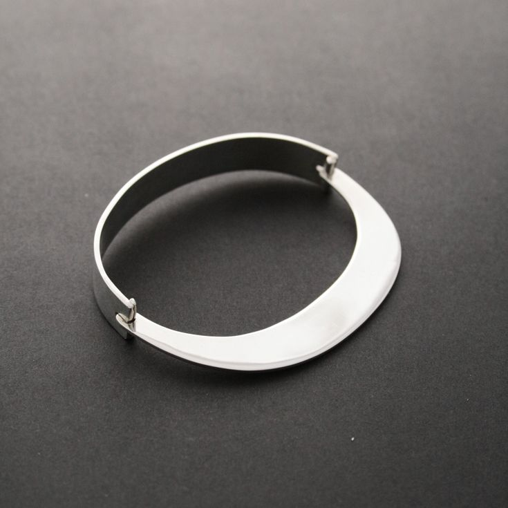 Miss Wee — Organic Oval Bangle • Available at thebigdesignmarket.com