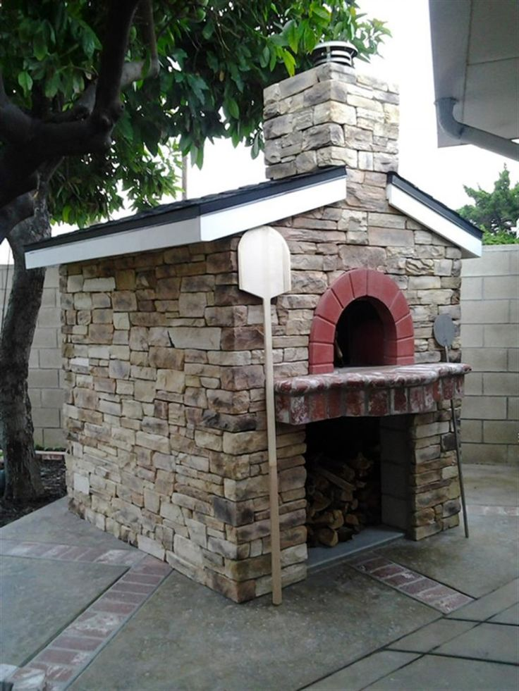 12 best pizza oven kits images on pinterest pizza oven - Outdoor kitchen pizza oven design ...