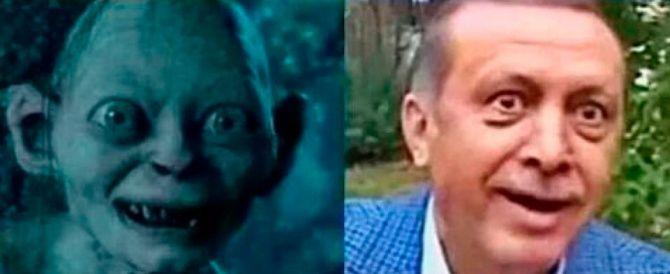 """""""Erdogan come Gollum"""": medico turco rischia due anni di carcere"""