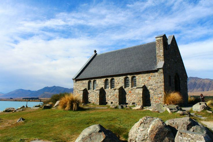 Church of the Good Shepherd, Lake Tekapo - 3 hours from Queenstown