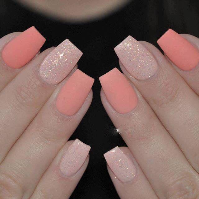 25 best ideas about salmon nails on pinterest corral for 3d nail salon midvale utah