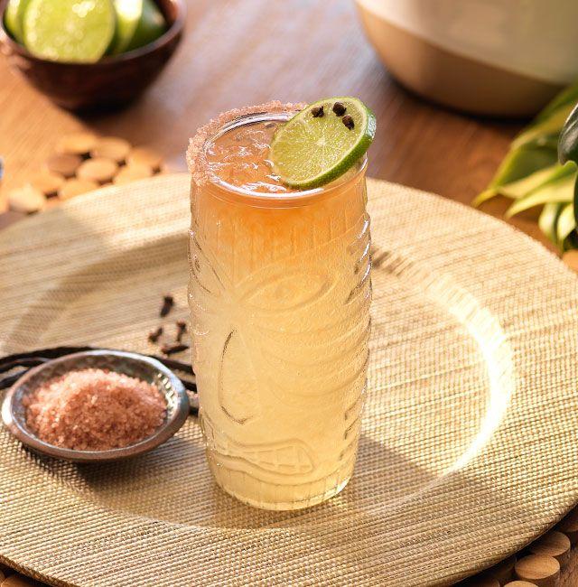 Enjoy Tiki Rita, a cocktail made with Patrón Reposado.
