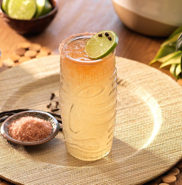Enjoy Tiki Rita, a cocktail made with Patrón Reposado.