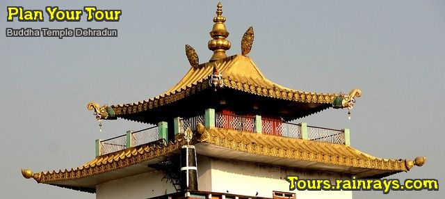 Tourist Attraction India: Buddha Temple Dehradun, religious tourist place