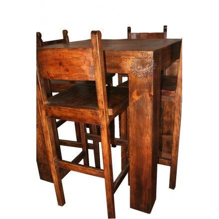 32 best images about table et chaises meuble mexicain on for Chaise de bar orange aixen provence