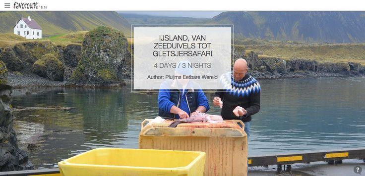 IJSLAND, VAN ZEEDUIVELS TOT GLETSJERSAFARI by Pluijm's Eetbare Wereld. http://www.peecho.com/print/en/70739
