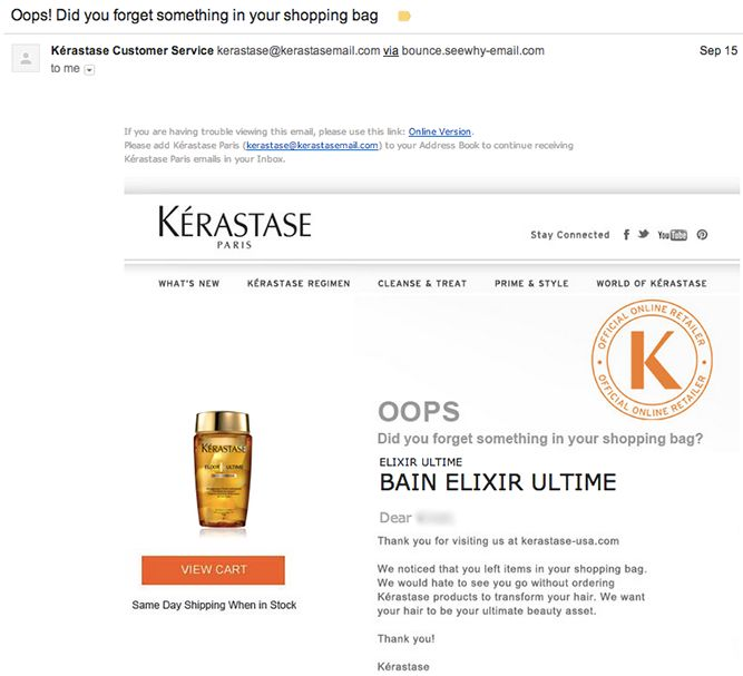 BUSINESS!  4 Ecommerce Transactional Emails You Should Be Optimizing (And How to Do It)