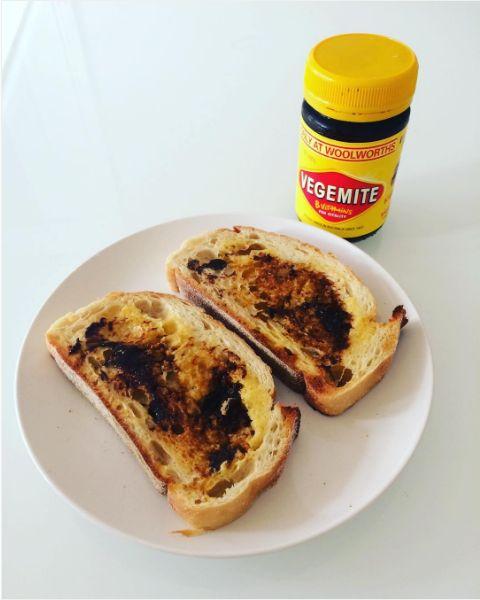 Vegemite on Buttered Toast   19 Australian Snacks Every American Needs To Try Immediately