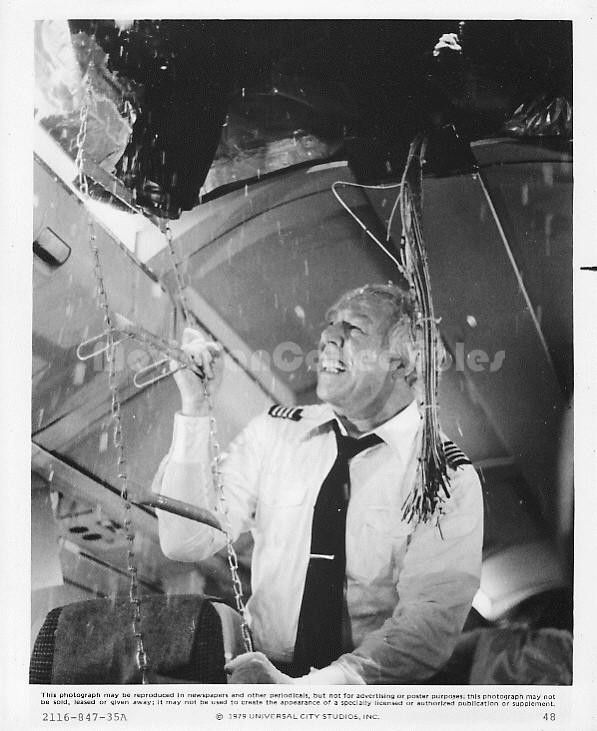 George Kennedy Photo The Concorde Airport '79 Movie Still Star