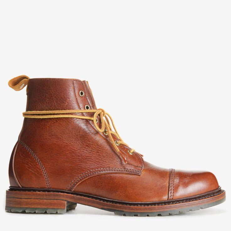 Normandy Cap-Toe Boot, 8303 Tan   Cap