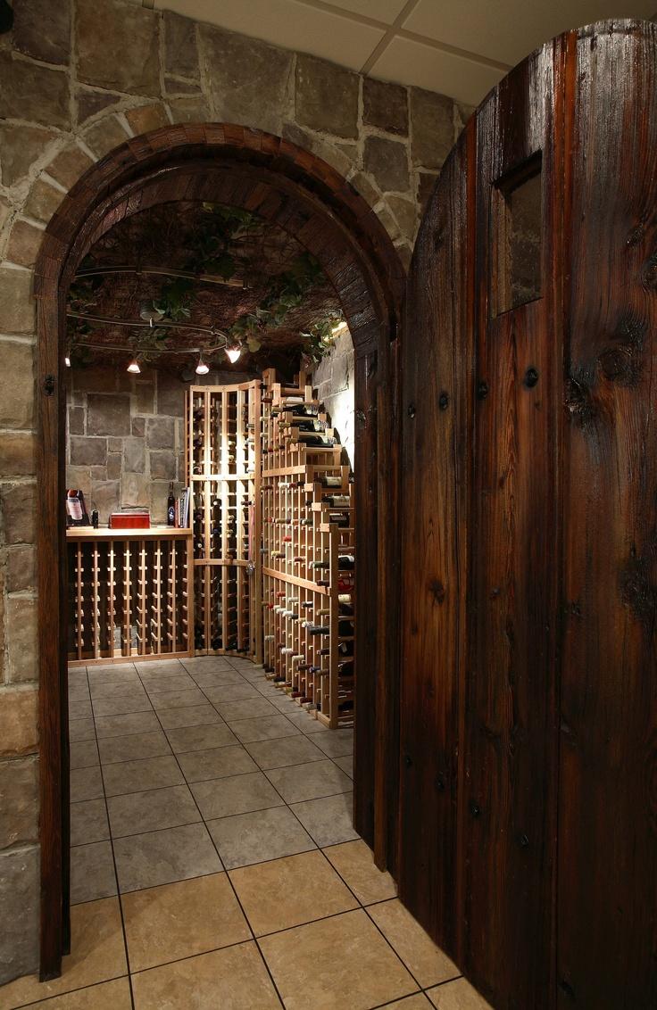 Wine cellar in the basement Yes please  Basement Wet