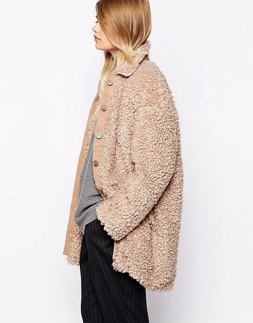 The Laden Showroom | The Laden Showroom X Paisie Teddy Bear Faux Fur Coat