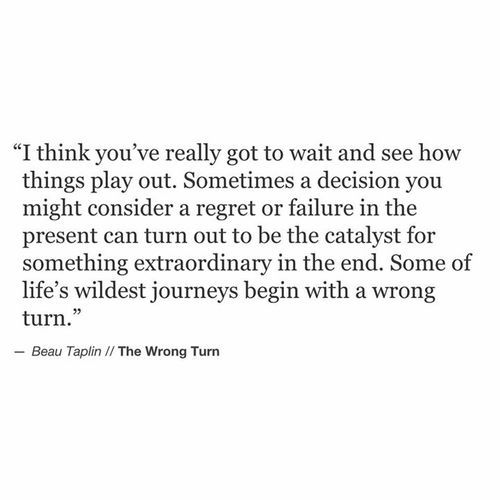 Beau Taplin | The Wrong Turn