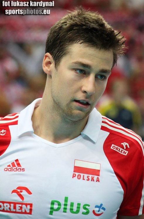 Michał Kubiak. Polish Volleyball Player.