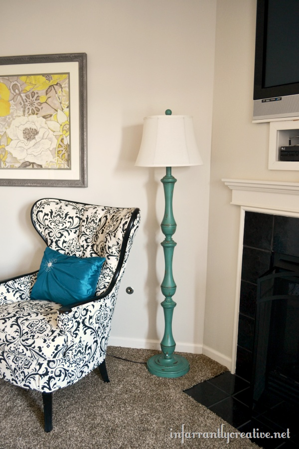 1000 images about lamps lighting on pinterest mercury for Kirklands turquoise floor lamp