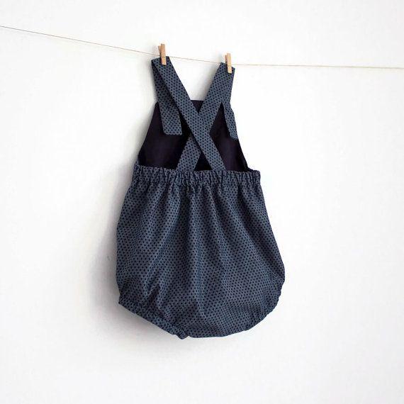 Baby Ruffled Romper Pattern PDF Sewing Pattern by shakalakabum