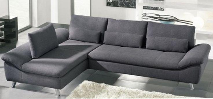 Creative Schillig Sofa Design : Gorgeous Grey Modern Elegant Schillig Sofa Design Ideas