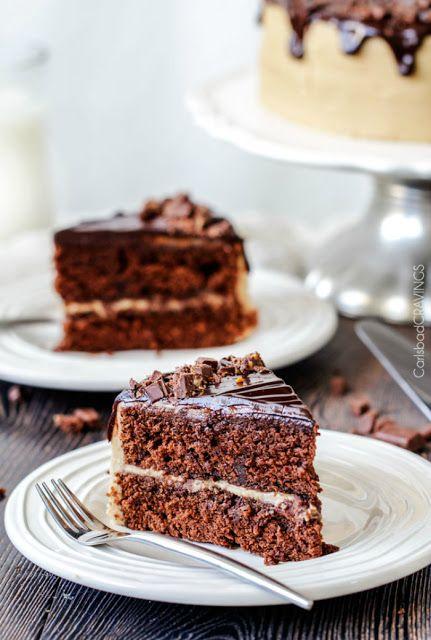 Tarta de caramelo y chocolate | Tasty details
