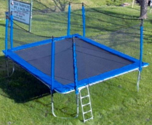 Marvelous The Ultra Extreme Trampoline Features the largest jumping surface