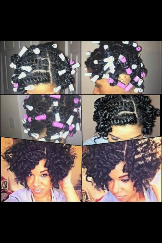 Twist out for protective style.
