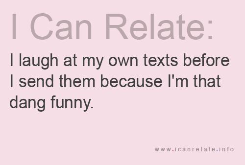 Hahahahahahah: I Funny, Hard Time, Freak Hilarious, Make A Difference, So True, I Cans Relate, So Funny, Totally Me, True Stories