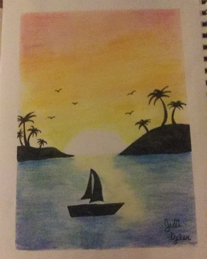This Took Ages To Make My Drawings Oil Pastel Painting